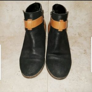 Dolce Vita Strap Booties Size 7